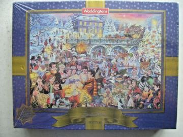 Vintage  Waddingtons Limited Edition Christmas Jigsaw - NEW and SEALED